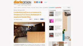 Foto 1 del artículo del Doctor Fernando de la Iglesia sobre Ortodoncia Tres Torres en el Blog de diseño de DiarioDesign