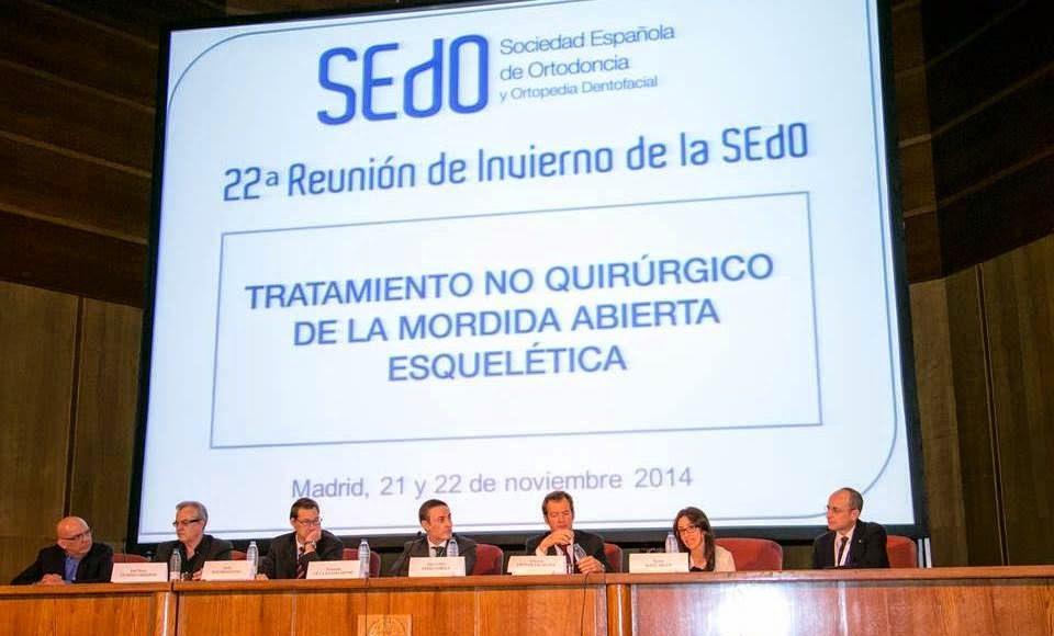 Foto 1 del artículo del Doctor Fernando de la Iglesia sobre Participación como ponente en la Sociedad Española de Ortodoncia (SEDO)