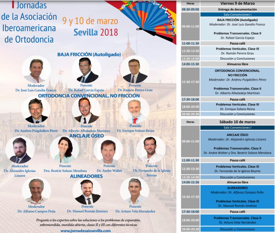 Foto 1 del congreso Iberoamericano ortodoncia 2018