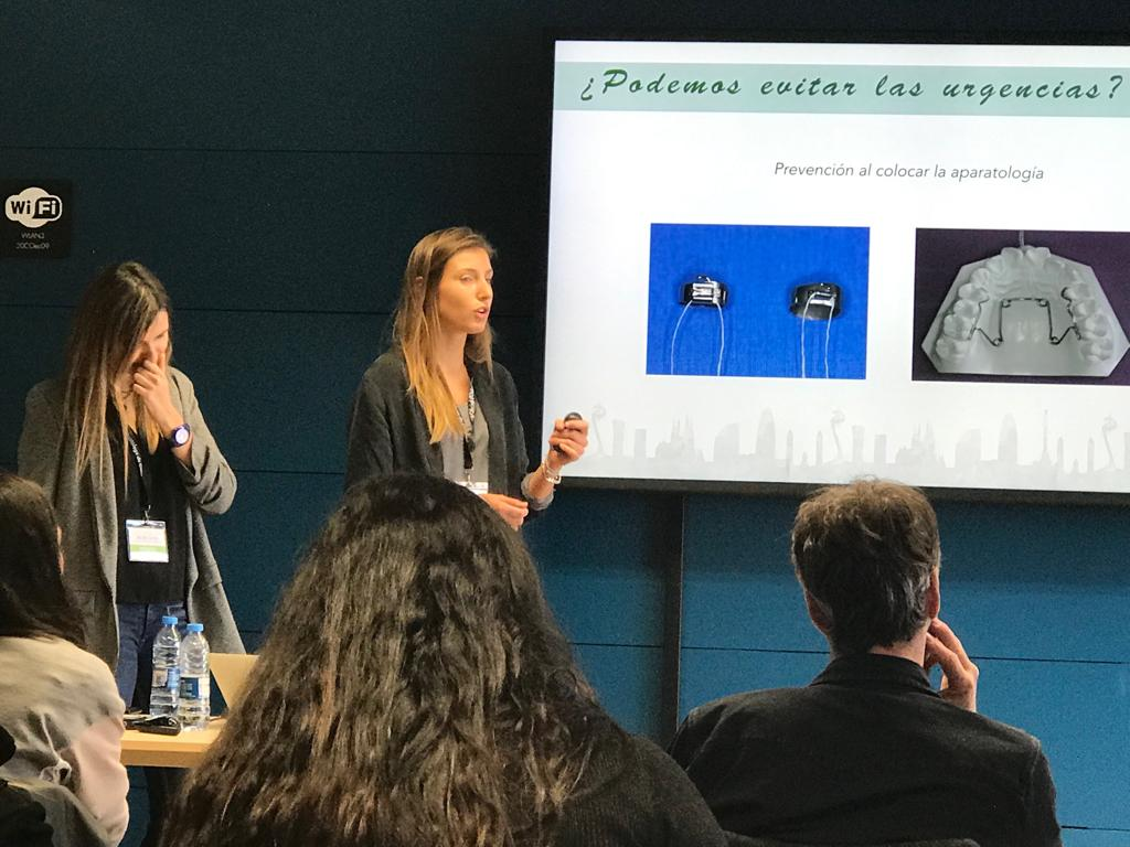 Dra. Anna Auladell en el congreso Barcelona Orthodontic Meeting 2019