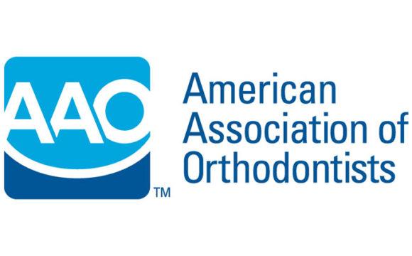 Logo del Congreso Anual 2019 de la American Association of Orthodontists celebrado del 3 de mayo al 7 de mayo en el Centro de Convenciones de Los Ángeles