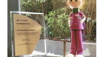 Ortodoncia Tres Torrer Barcelona obtiene la distinción Platinum Elite
