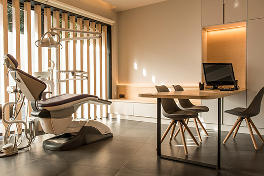 Orthodontics Sant Cugat clinic treatment room