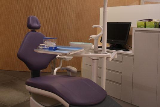 Ortodòncia Sant Cugat clínica sala tractaments