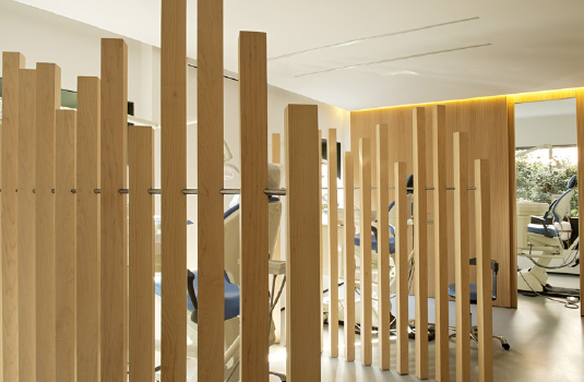 Ortodoncia Tres Torres Barcelona clínica salas tratamientos