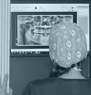 Orthodontics Tres Torres Barcelona radiography