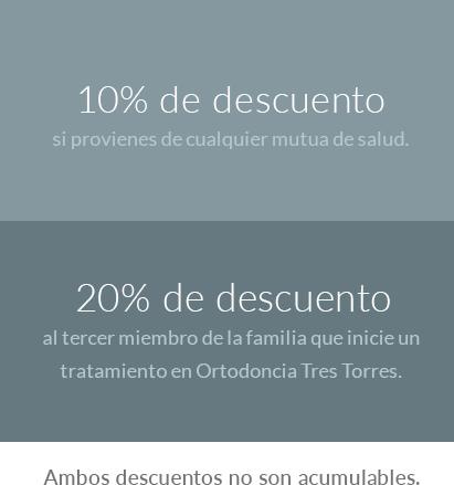 Ortodoncia invisible Barcelona descuentos