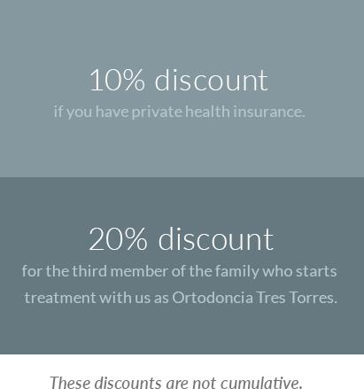 Ortodoncias Tres Torres discounts