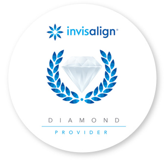Invisalign logo, the most recommended invisible orthodontics