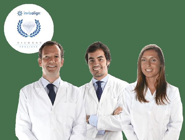 Orthodontist in Barcelona with distinction Invisalign Diamond